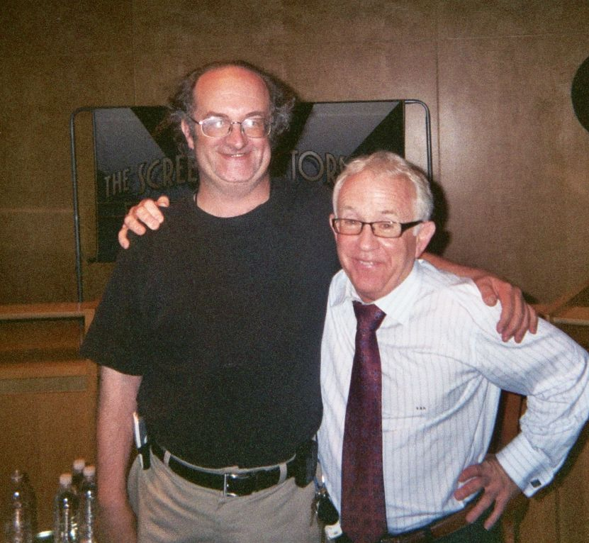 With Leslie Jordan at his 25 August 2008 SAG Conversations event
