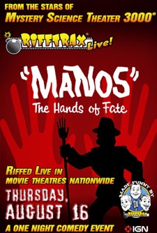 RiffTrax Event: ''Manos the Hands of Fate''
