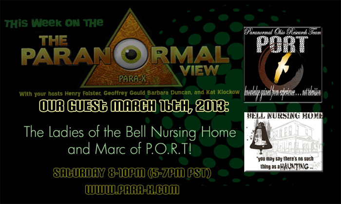 Paranormal Ohio Research Team [P.O.R.T.]