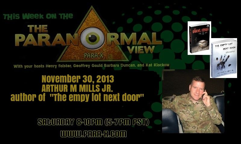 The Paranormal View 30 November 2013 edition