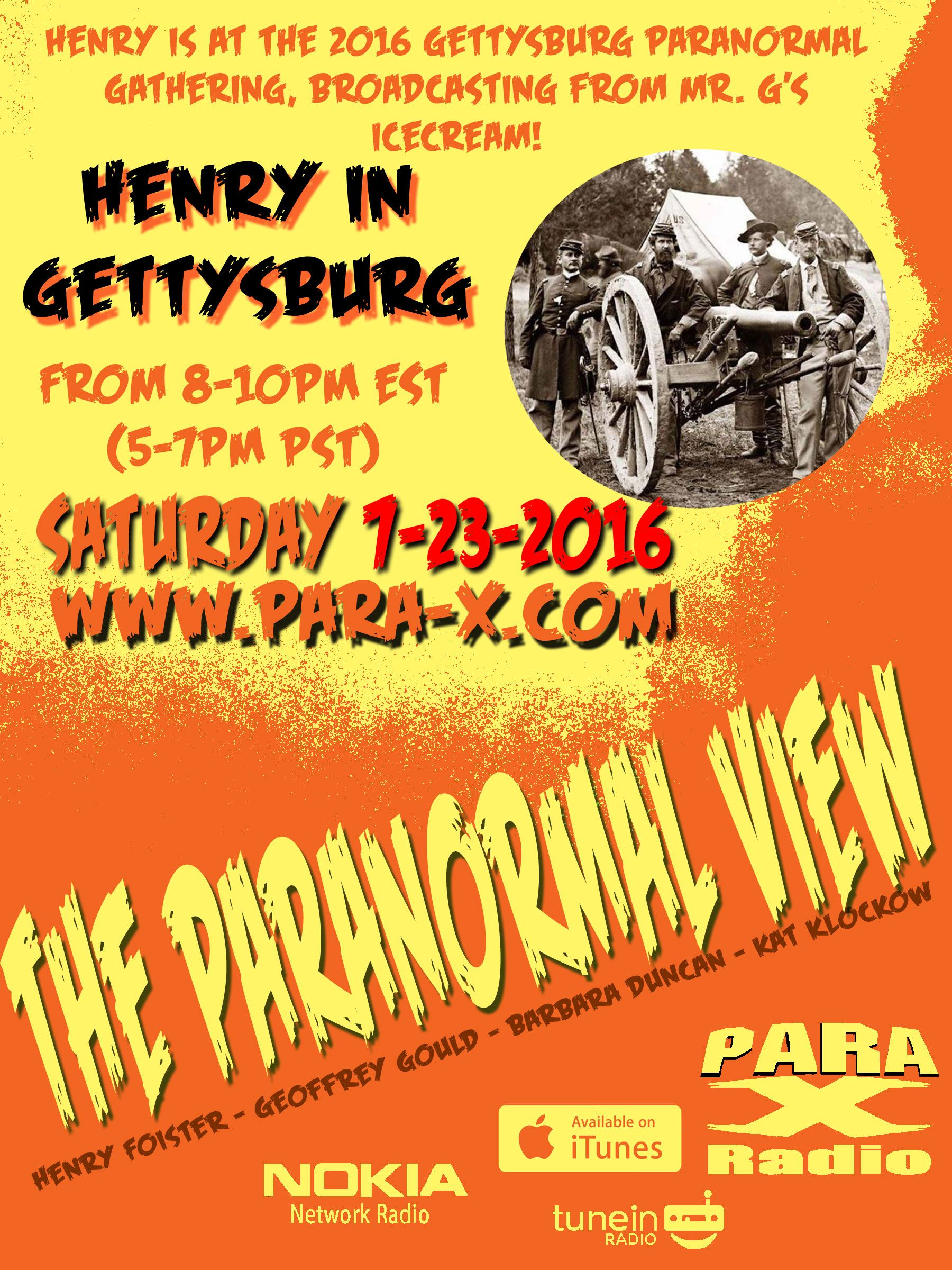 Hennry live at Mr. G's Ice Cream Parlour at the John Winebrenner House in Gettysburg, Pennsylvania