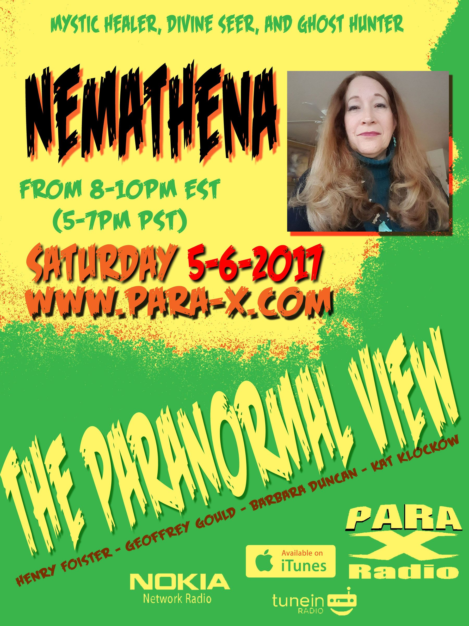 The Paranormal View hosts