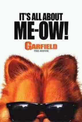 One of three posters for the ''Garfield''movie/s