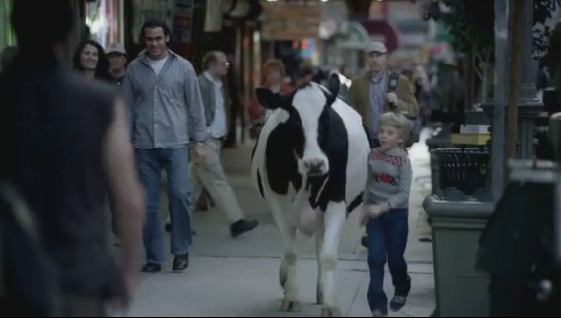 Arla commercial ''Cow''