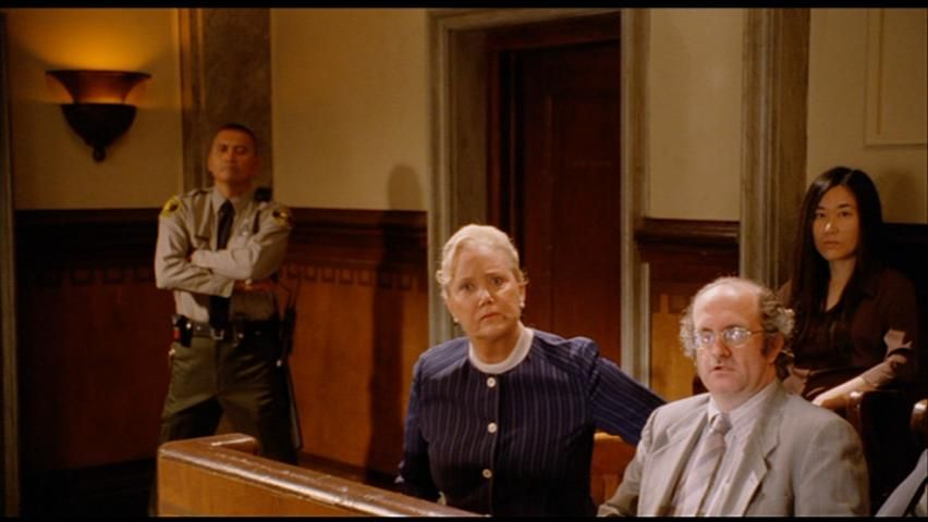 Geoffrey Gould next to Sally Kirkland in ''Big Stan''