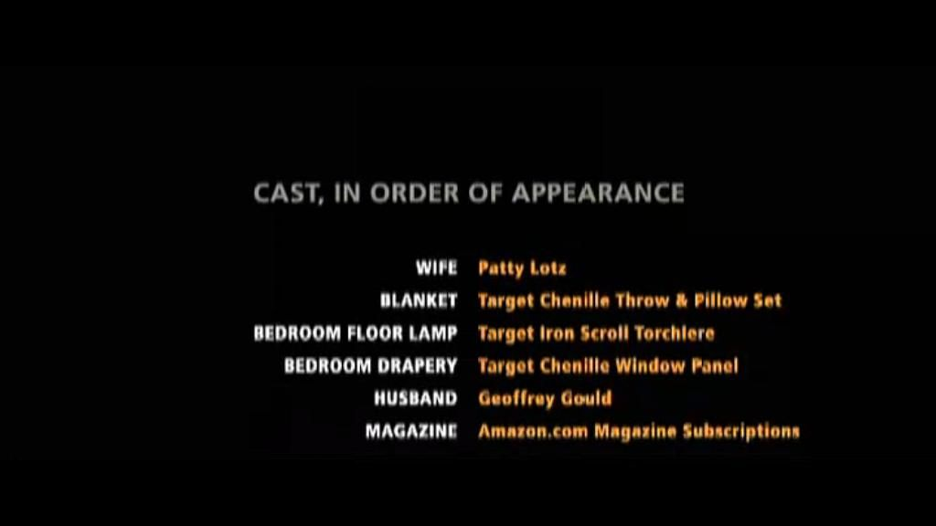 End Credits for Amazon Theatre ''Careful What You Wish For'' commercial/short