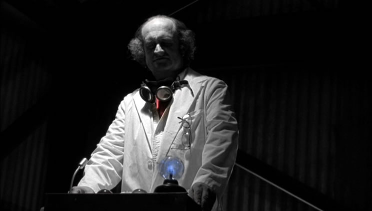 As the Mad Scientist in ''The Champ''