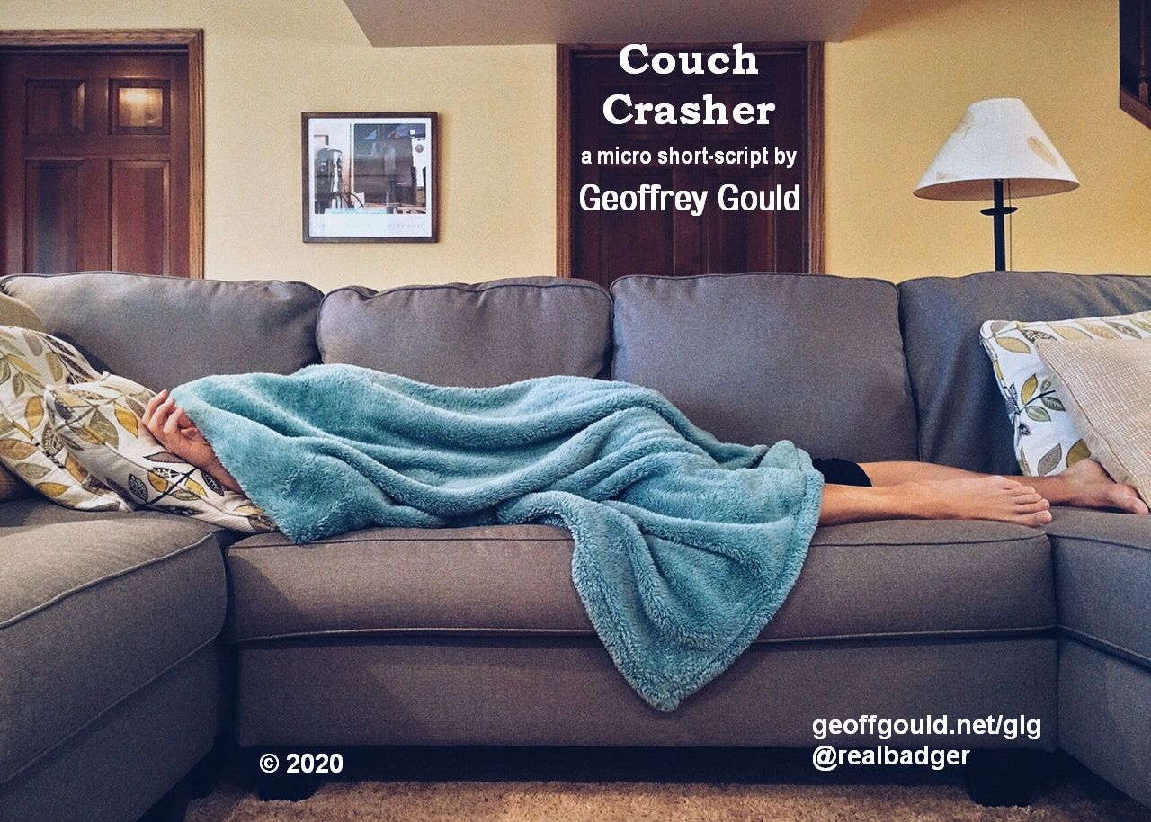 Couch Crasher temp-poster