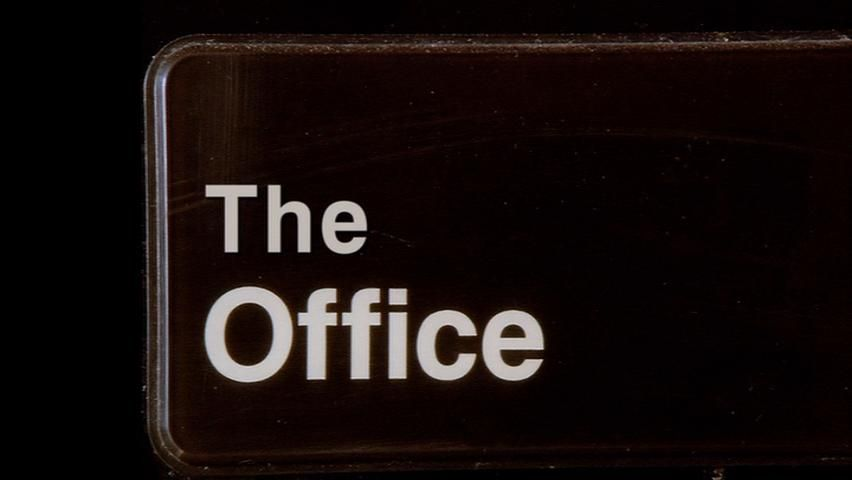 Geoffrey Gould working on ''The Office'' episode 5.15