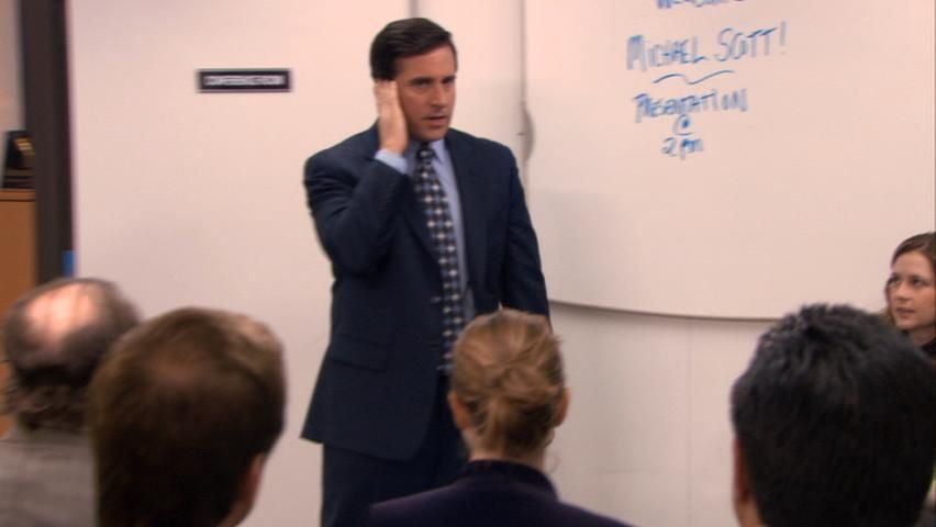 Steve Carell on ''The Office'' episode 5.15