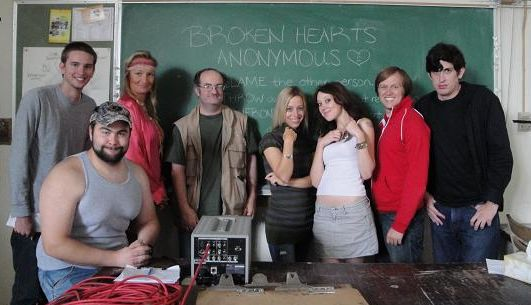 Support group cast for ''Broken Hearts Anonymous''