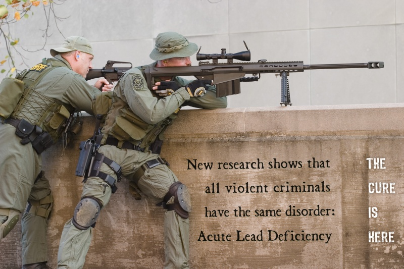New research shows that all violent criminals have the same disorder: Acute Lead Deficiency... the cure is here
