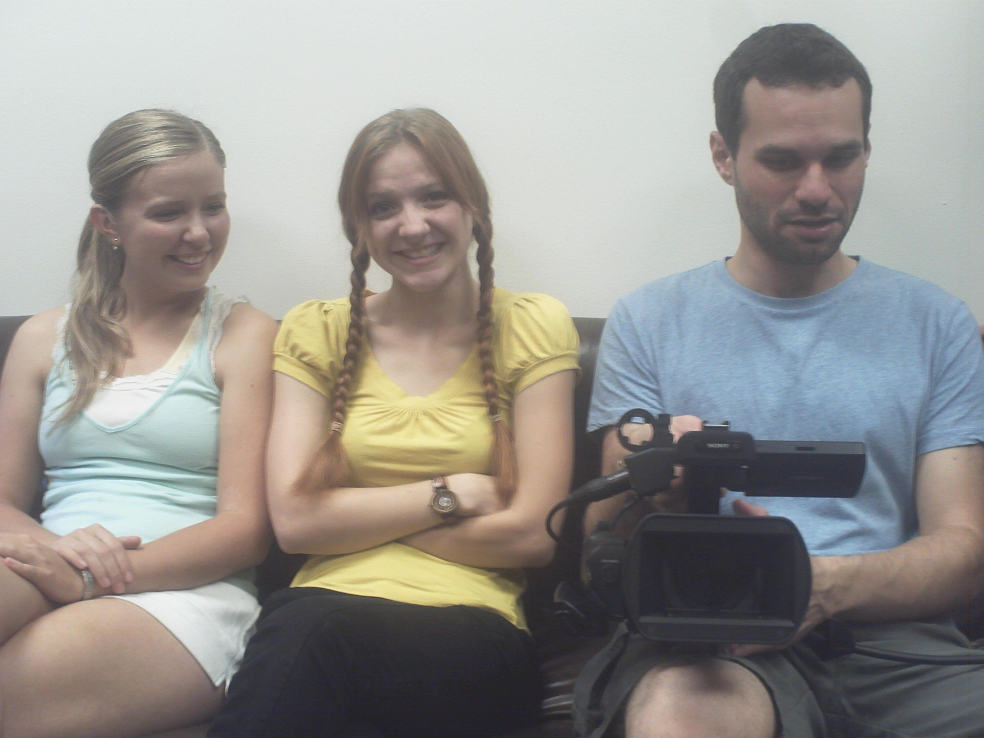 Sienna Beckman, Aylia Colwell and Ben Lusthaus for the for the USC student film project ''A Learning Experience''