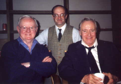 Geoffrey Gould with Daniel Petrie Sr. and Jack Lemmon in ''Inherit the Wind''