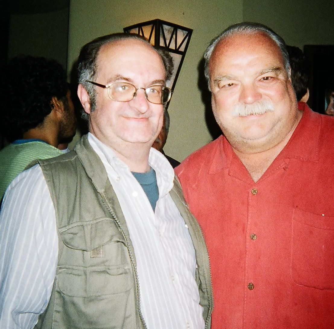 With veteran character actor Richard Riehle