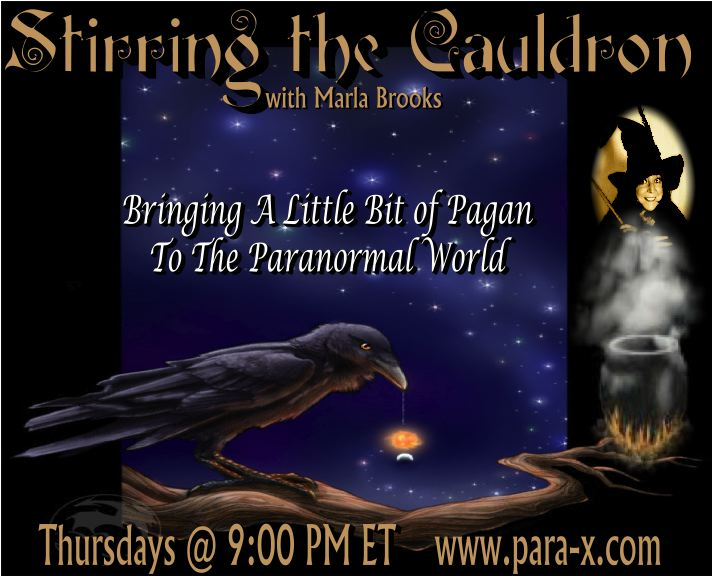 Marla Brooks online radio show ''Stirring the Cauldron''