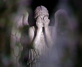 Weeping Angel from 'Doctor Who' episode 'Blink'
