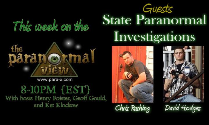 State Paranormal Investigations
