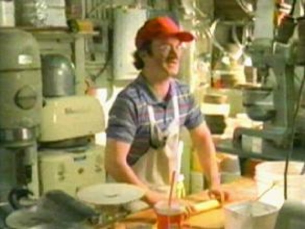 As the red-capped baker in the ''Botulism!'' TV promo commercial spot