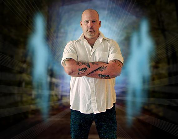 Author and psychic criminal profiler Robbie Thomas