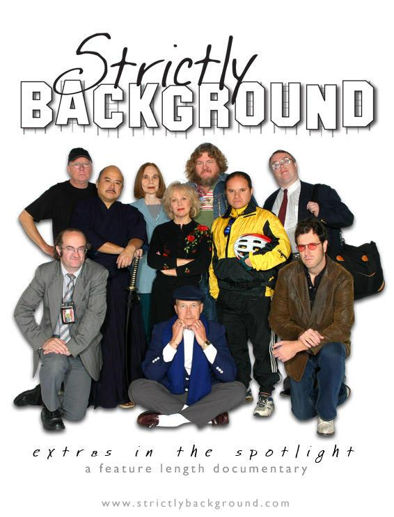 Feature documentary ''Strictly Background'' official site